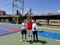A great time at the Make the World Better Foundation in Philly on Saturday! An amazing cause, founded by New York Giants Linebacker, Connor Barwin, which develops and revitalizes public spaces to inspire and empower communities. I got to see the excitement, the energy, and the beautiful courts. Fantastic work.